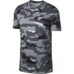 Nike T-Shirt Męski M Nsw Tee Camo Pack 1/Wolf Grey/Cool Grey/White L. Białe t-shirty męskie Nike, z bawełny. Za 119.00 zł.