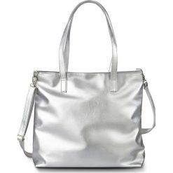 Torba shopper metaliczna, z kolekcji Maite Kelly bonprix srebrny kolor. Torebki shopper damskie marki WED'ZE. Za 89.99 zł.