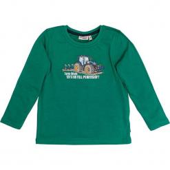 """Koszulka """"Traktor"""" w kolorze zielonym. T-shirty dla chłopców marki Reserved. W wyprzedaży za 42.95 zł."""