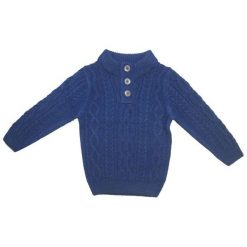 Carodel Sweter Chłopięcy 122/128 Niebieski. Swetry dla chłopców marki Reserved. Za 55.00 zł.
