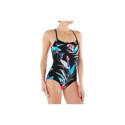 Strój jednoczęściowy do aquafitness Meg Tropical damski. Czarne kostiumy jednoczęściowe damskie NABAIJI. W wyprzedaży za 49.99 zł.