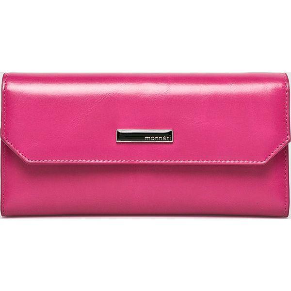 1c74dcd0c5e9de Monnari - Portfel skórzany - Różowe portfele damskie Monnari, z ...