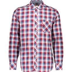 Koszula - Regular fit - w kolorze czerwono-biało-niebieskim. Białe koszule męskie Mustang, w kratkę, z bawełny, z klasycznym kołnierzykiem. W wyprzedaży za 78.95 zł.