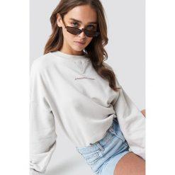 NA-KD Trend Bluza Passionate - Beige,Nude,Offwhite. Brązowe bluzy damskie NA-KD Trend, z nadrukiem, z dzianiny. Za 161.95 zł.