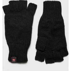 Trussardi Jeans - Rękawiczki. Czerwone rękawiczki damskie TRUSSARDI JEANS, z jeansu. Za 189.90 zł.