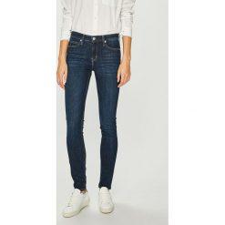 Calvin Klein Jeans - Jeansy Skinny. Niebieskie jeansy damskie Calvin Klein Jeans. Za 449.90 zł.
