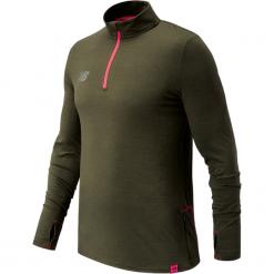 Bluza treningowa MT732026MTH. Brązowe bluzy męskie New Balance, z elastanu. W wyprzedaży za 189.99 zł.