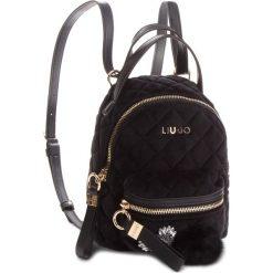 Plecak LIU JO - S Backpack Brentave N68066 T9093 Nero 22222. Czarne plecaki damskie Liu Jo, z materiału, klasyczne. Za 469.00 zł.