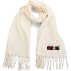 Szal MOSCHINO - 30578 M1877 002. Brązowe szaliki i chusty damskie MOSCHINO, z materiału. Za 409.00 zł.