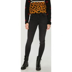 Jacqueline de Yong - Jeansy Felice. Czarne jeansy damskie Jacqueline de Yong. Za 169.90 zł.