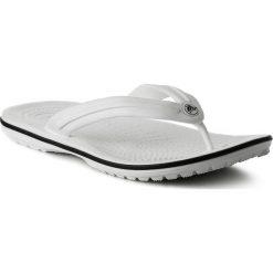 Japonki CROCS - Crocband Flip 11033 White. Białe klapki damskie Crocs, z materiału. Za 119.00 zł.