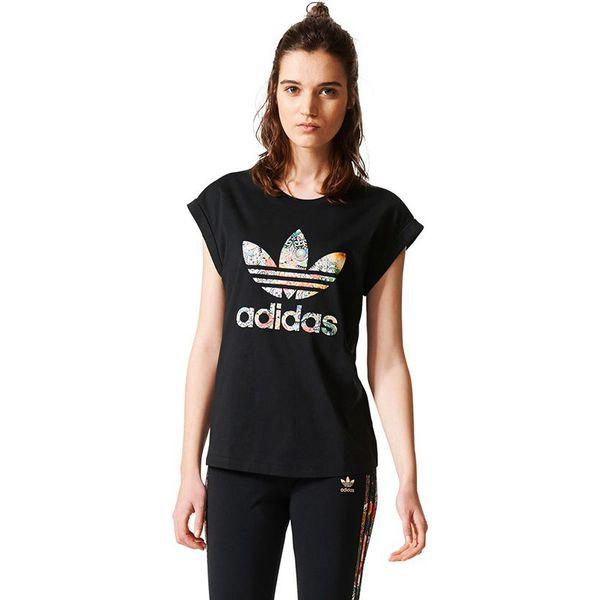 148587212 Adidas Koszulka damska JARDIM AGHARTA BF ROLL UP TEE czarna r. 36 ...