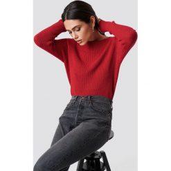 Rut&Circle Sweter Quini - Red. Czerwone swetry damskie Rut&Circle, z dzianiny. Za 121.95 zł.