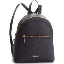 Plecak LIU JO - M Backpack Manhatta N68067 E0087 Nero 22222. Czarne plecaki damskie Liu Jo, ze skóry ekologicznej, eleganckie. Za 599.00 zł.