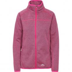 """Kurtka polarowa """"Tenbury"""" w kolorze różowym. Czerwone kurtki damskie Trespass Snow Women, z polaru. W wyprzedaży za 108.95 zł."""