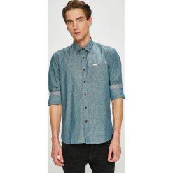 Pepe Jeans - Koszula. Szare koszule męskie Pepe Jeans, z bawełny, z klasycznym kołnierzykiem, z długim rękawem. W wyprzedaży za 219.90 zł.
