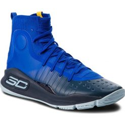 Buty UNDER ARMOUR - Ua Curry 4 1298306-401 Try/Ady/Ady. Niebieskie buty sportowe męskie Under Armour, z materiału. W wyprzedaży za 449.00 zł.