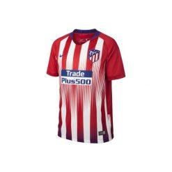Koszulka krótki rękaw do piłki nożnej Atletico. Czerwone t-shirty damskie Nike. Za 369.99 zł.
