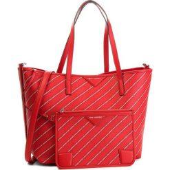 Torebka KARL LAGERFELD - 86KW3062  Ruby. Czerwone torebki do ręki damskie KARL LAGERFELD, ze skóry ekologicznej. Za 1,129.00 zł.