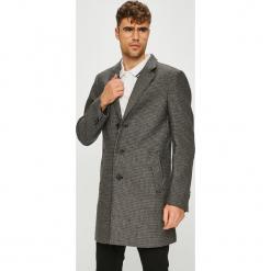Tom Tailor Denim - Płaszcz. Szare płaszcze męskie Tom Tailor Denim, z bawełny, klasyczne. W wyprzedaży za 339.90 zł.