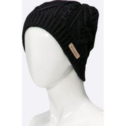 Columbia - Czapka Parallel Peak II. Czarne czapki i kapelusze damskie Columbia, z dzianiny. W wyprzedaży za 99.90 zł.
