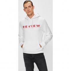 Review - Bluza. Szare bluzy męskie Review, z nadrukiem, z bawełny. W wyprzedaży za 99.90 zł.