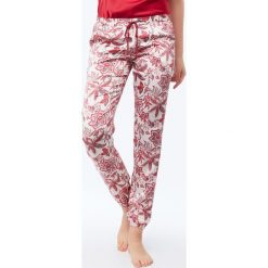 Etam - Spodnie piżamowe Clara. Szare piżamy damskie Etam, z materiału. W wyprzedaży za 99.90 zł.