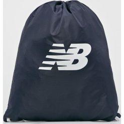 New Balance - Plecak. Szare plecaki damskie New Balance, z poliesteru. W wyprzedaży za 39.90 zł.