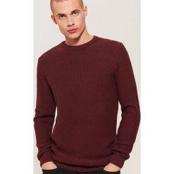 Sweter - Bordowy. Czerwone swetry przez głowę męskie House. Za 89.99 zł.