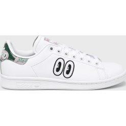 Adidas Originals - Buty Stan Smith. Szare obuwie sportowe damskie adidas Originals, z gumy. Za 499.90 zł.