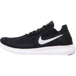 Nike Performance FREE RUN FLYKNIT 2 Obuwie do biegania neutralne black/white/anthracite/dark grey. Buty sportowe męskie Nike Performance, z materiału. W wyprzedaży za 466.65 zł.