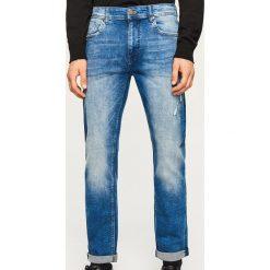 Jeansy slim fit - Niebieski. Niebieskie jeansy męskie Reserved. Za 169.99 zł.