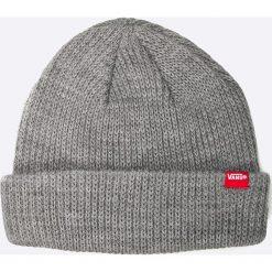 Vans - Czapka Core Basic Beanie. Szare czapki i kapelusze męskie Vans. Za 79.90 zł.
