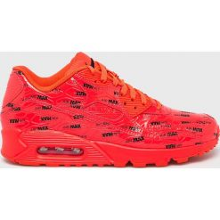 Nike Sportswear - Buty Air Max 90 Premium. Brązowe buty sportowe męskie Nike Sportswear, z materiału. Za 599.90 zł.