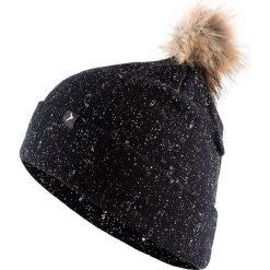 Czapka damska CAD609 - głęboka czerń - Outhorn. Czarne czapki i kapelusze damskie Outhorn. Za 39.99 zł.