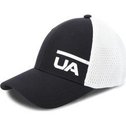 Czapka z daszkiem UNDER ARMOUR - Ua Train Spacer Mesh Cap 1305446-001 Biały Czarny. Białe czapki i kapelusze damskie Under Armour. Za 99.95 zł.
