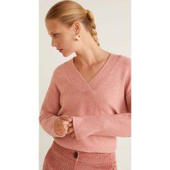 Mango - Sweter Betsy. Różowe swetry damskie Mango, z dzianiny. Za 139.90 zł.