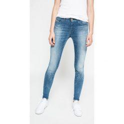 Diesel - Jeansy Slandy. Niebieskie jeansy damskie Diesel. W wyprzedaży za 579.90 zł.