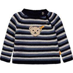 Sweter w kolorze granatowo-kremowo-niebieskim. Swetry dla chłopców marki Reserved. W wyprzedaży za 147.95 zł.