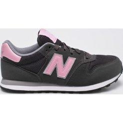 New Balance - Buty. Szare obuwie sportowe damskie New Balance, z materiału. W wyprzedaży za 239.90 zł.