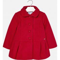 Mayoral - Płaszcz dziecięcy 104-134 cm. Białe kurtki i płaszcze dla dziewczynek Mayoral, z materiału. Za 249.90 zł.