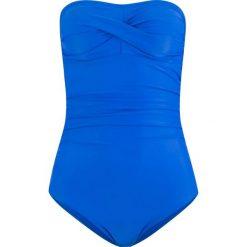 Kostium kąpielowy bonprix błękit królewski. Niebieskie kostiumy jednoczęściowe damskie bonprix. Za 99.99 zł.
