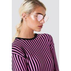 Le Specs Okulary przeciwsłoneczne Echo - Pink. Różowe okulary przeciwsłoneczne damskie Le Specs. Za 283.95 zł.