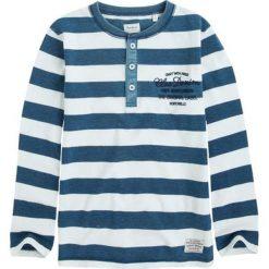Koszulka w kolorze niebiesko-białym. T-shirty dla chłopców marki Reserved. W wyprzedaży za 64.95 zł.