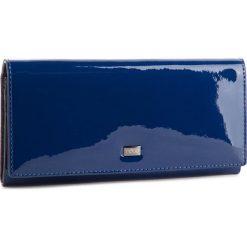Duży Portfel Damski NOBO - NPUR-LG0030-C013  Granatowy Lakier. Niebieskie portfele damskie Nobo, z lakierowanej skóry. W wyprzedaży za 149.00 zł.
