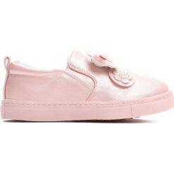 Różowe Slip On Look Fine. Czerwone buty sportowe dziewczęce Born2be, z materiału. Za 39.99 zł.