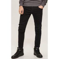 Jeansy skinny - Czarny. Czarne jeansy damskie House. Za 129.99 zł.