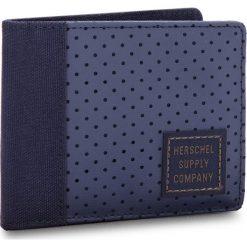 Duży Portfel Męski HERSCHEL - Edward 10365-01829 Peacoat/Army. Niebieskie portfele męskie Herschel, z materiału. W wyprzedaży za 129.00 zł.