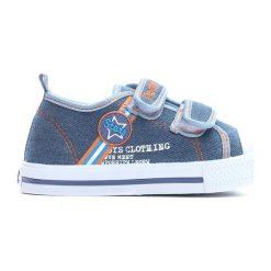 Niebieskie Trampki Loving Stars. Niebieskie buty sportowe chłopięce Born2be, z materiału. Za 39.99 zł.