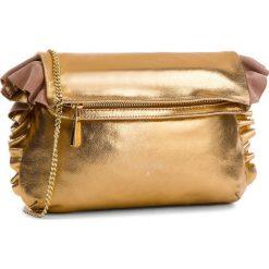 Torebka PATRIZIA PEPE - 8V0259/A4E2-I2UF Dark Gold. Żółte torebki do ręki damskie Patrizia Pepe, ze skóry. W wyprzedaży za 799.00 zł.